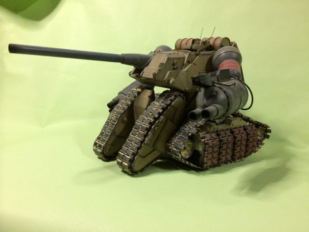 陸戦強襲型ガンタンク | BASTARDS